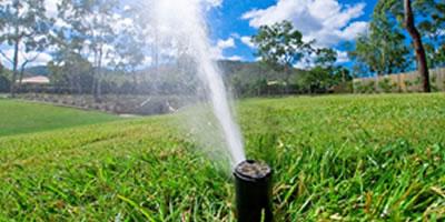 Irrigação de Gramas